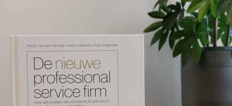 De nieuwe professional service firm